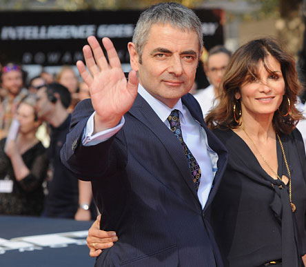 مستربین و همسرش